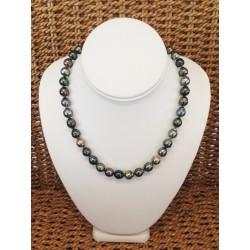 Collier de Perles Noires de...